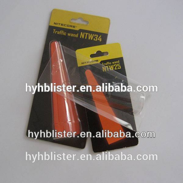 Clear plastic blister package