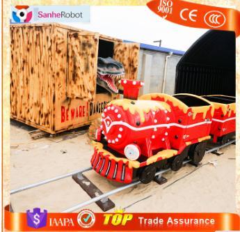 Professional Kids park Trackless Mini Electric Tourist model train