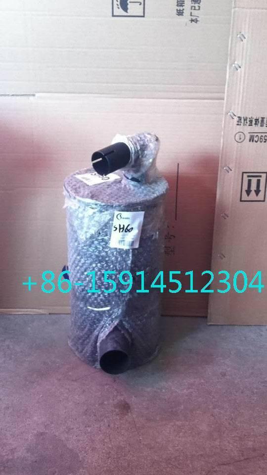 Sumitomo SH60A1 muffler with tube clip ME051064