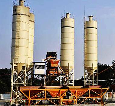 YHZS75 Mobile Concrete Mixing Plant