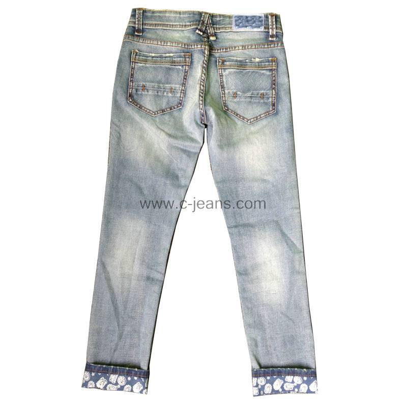 Indigo Blue Fashion Men's Straight Jeans