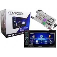 Kenwood DDX470 Double Din In-Dash Touchscreen Car DVD Player