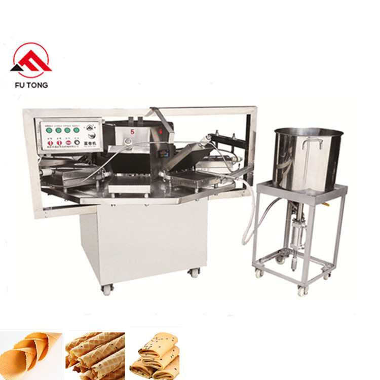 Wholesale Discount Biscuit Snack Machine Egg Wafer Roll Maker Waffle Ice Cream Cone Machine