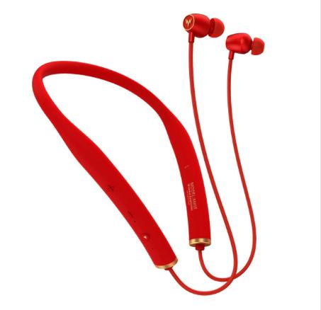 Whizzer AM1E Wireless Bluetooth HiFi Earphones Waterproof Neckband with Mic Control