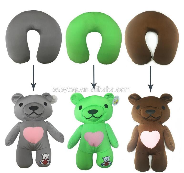 Outdoor Comfortable Folding Camping deformation travel neck pillow