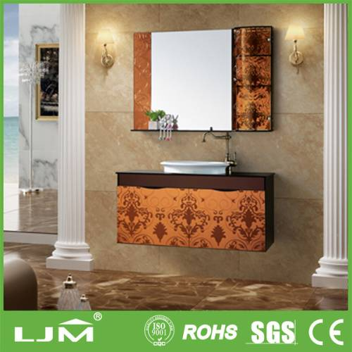 2014 new product modern stainless steel bathroom vanity