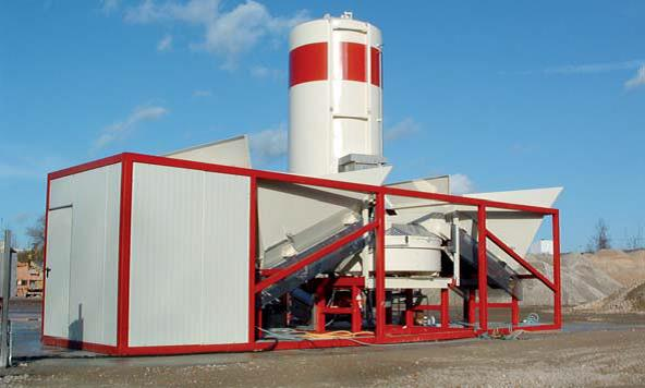 Special Budget Mobile concrete plant