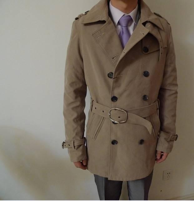 2014 new winter major suit men's wool coat