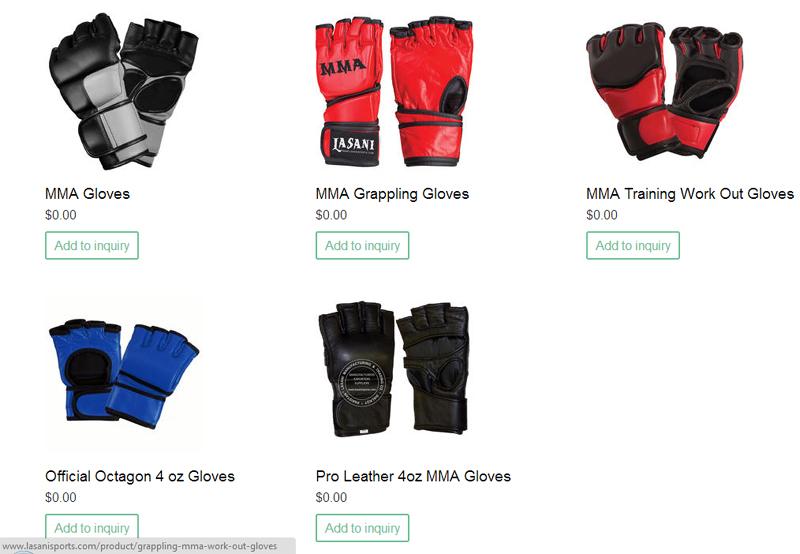 Custom MMA Fight Training Gloves