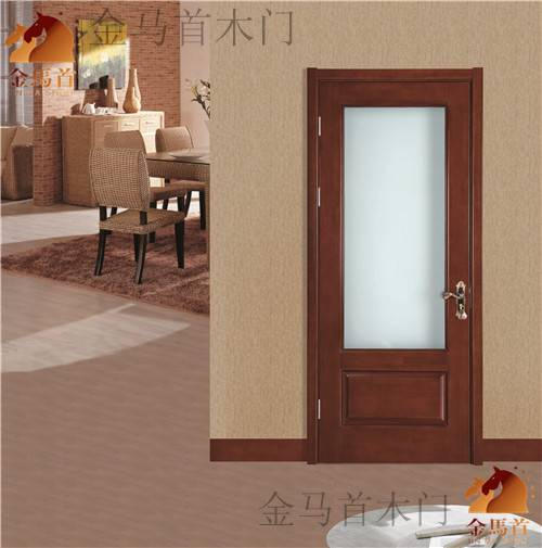 Shandong manufacturer customized solid wooden door