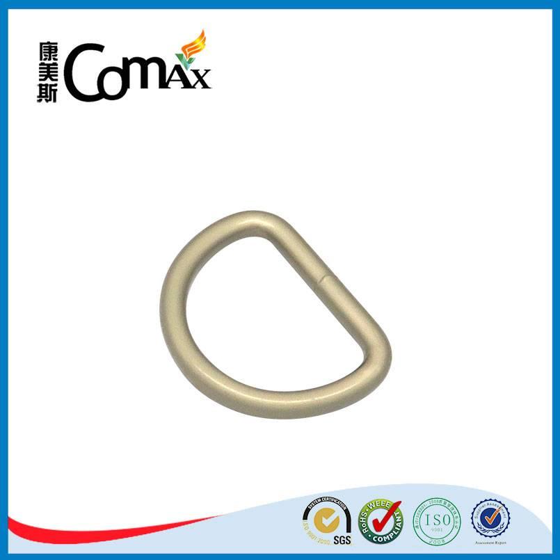 Wholesale fashion bag accessories bulk metal d ring