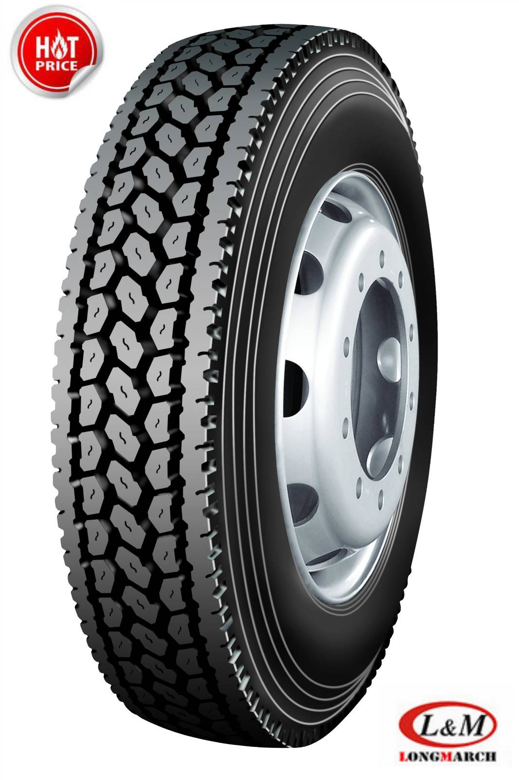 China Truck Tyre Longmarch Truck Tires with Drive Position (LM516)