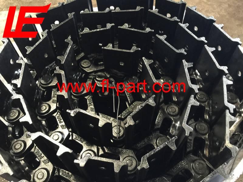 Komatsu PC15 mini track chain assy/track gear