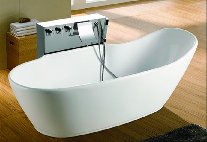 cUPC freestanding acrylic resin bathtub,bathroom bathtub,irregular bathtub