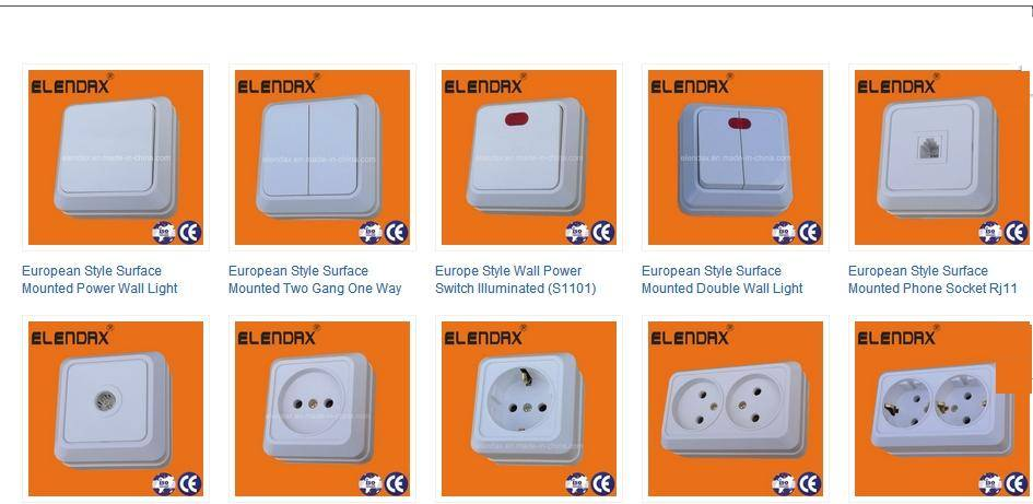 European Style Wall Switch