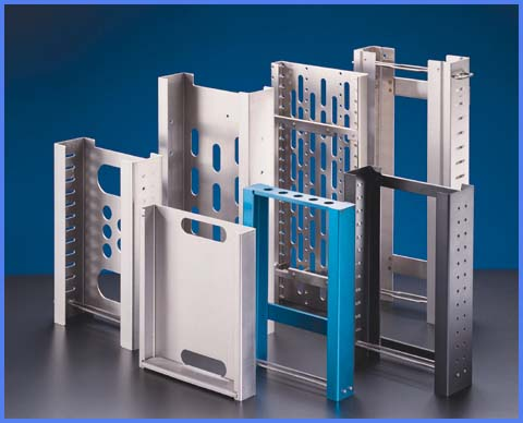 Stack Magazines,Aluminum &Stainless Steel End-of-Line Magazines for Lead Frames and Strip Handling