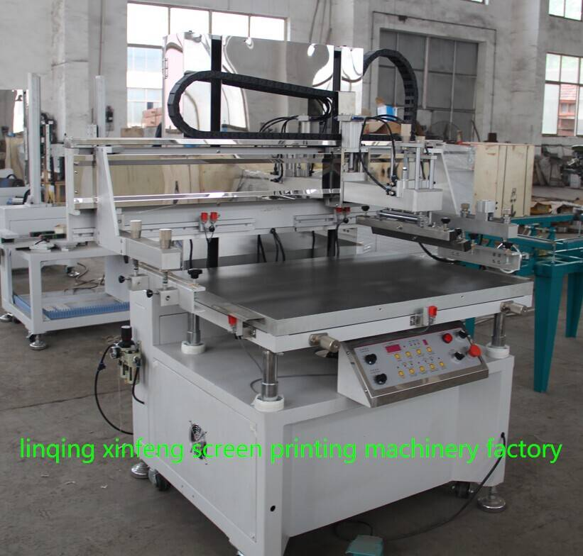 XF-5070 semi-automatic silk screen printing machine