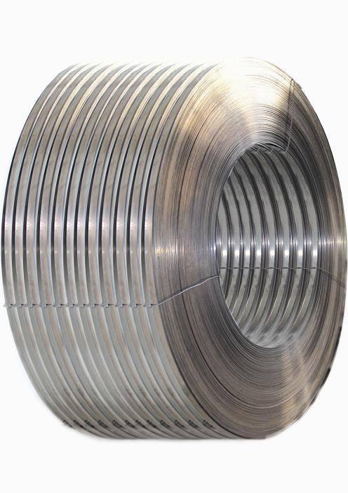Bimetal strips for producing bimetal hacksaw blade