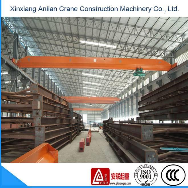 LD model 5T single beam crane, electric hoist single girder crane