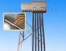 Integrate Pressurized Solar Water Heater with Stainless Steel Tank