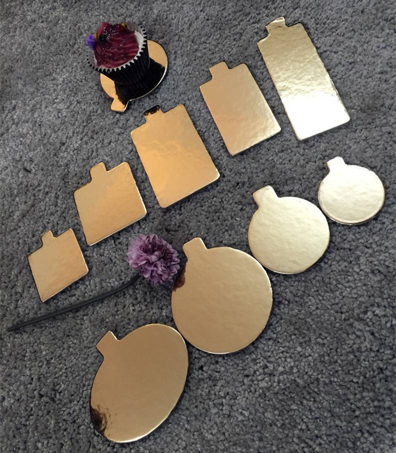 Manufacturer Golden Card Pad Mini Round Cake Board