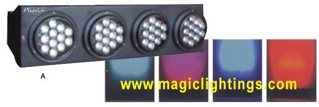 Led Four Eyes Change Color Light Led Stage Light (Magiclite) M-A017-1