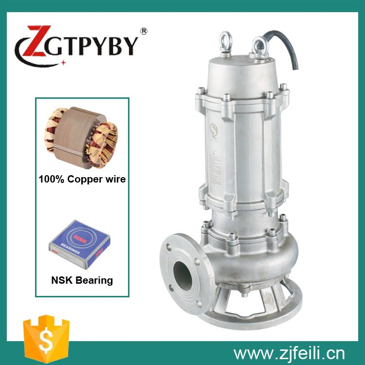 2015 new product submersible waste water pump made in China