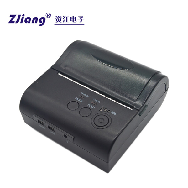 ZJ-8001DD Mini Portable Bluetooth Mobile Printer Mini Bill Printer