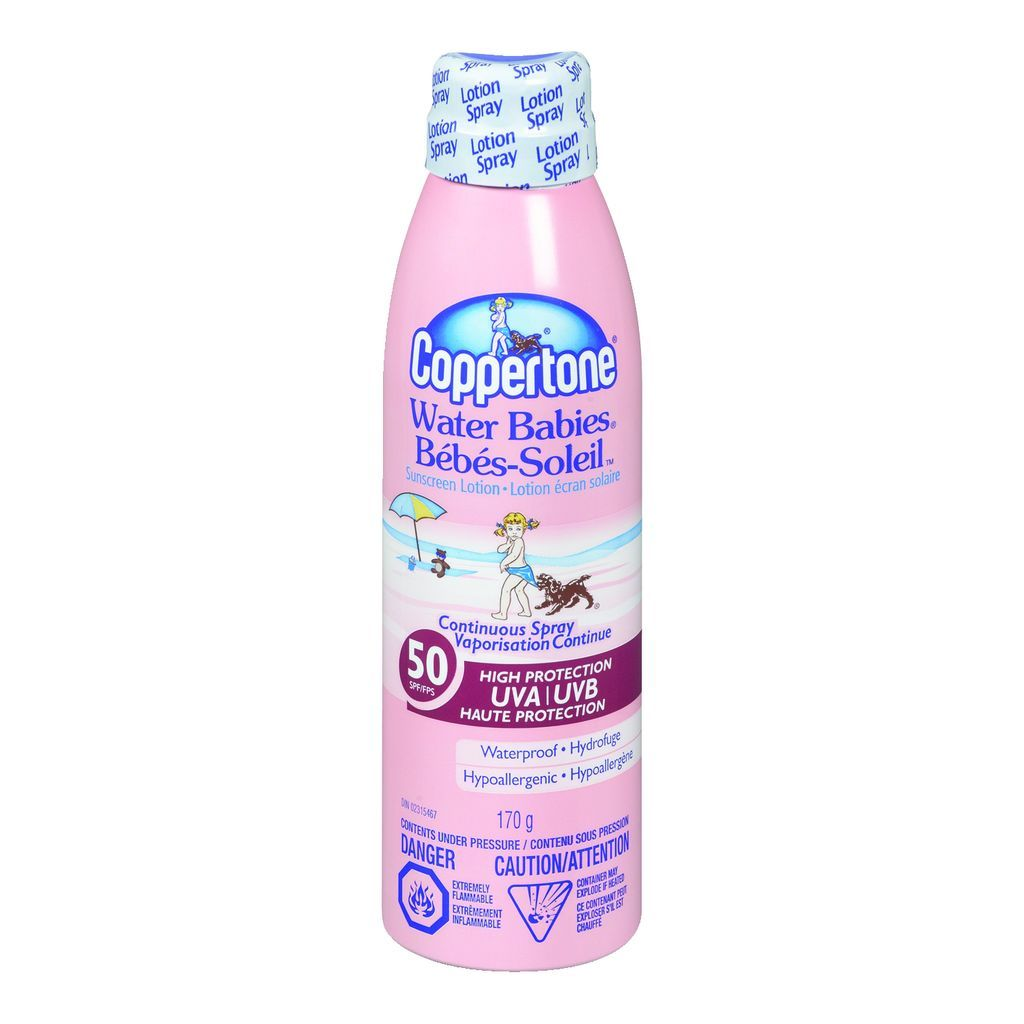 Coppertone Water Babies Sunscreen Solution Sale
