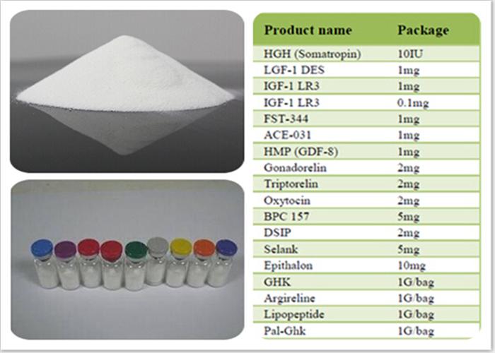 98% Polypeptide Hormones Desmopressin Acetate 16789-98-3 For Coagulation Zdisorders