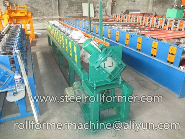 metal stud track roll forming machine