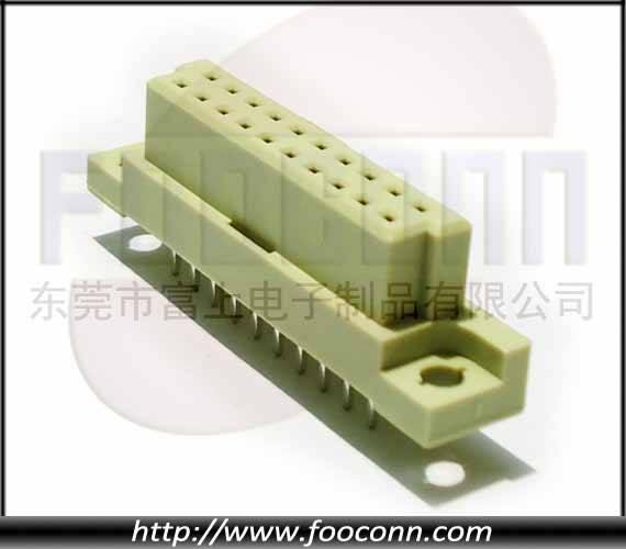 DIN41612 Connector 30P Female Straight DIP
