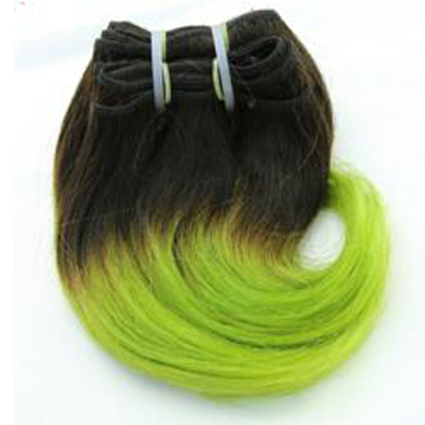 100% Brazilian hair Remy hair Body wave Shot hair Ombre corlor hair product