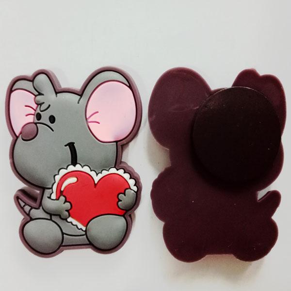 Miki Mouse Cartoon Sticker PVC rubber Fridge Magnet