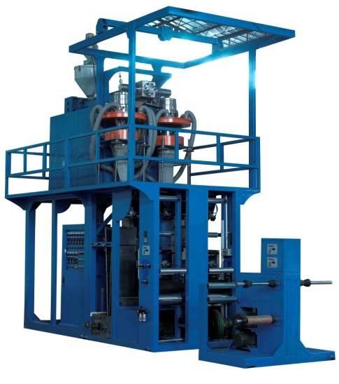 PP plastic film blowing machine