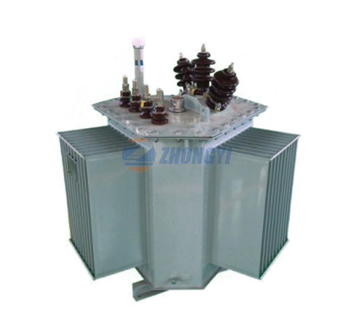 How to see the oil position of oil-immersed transformer?