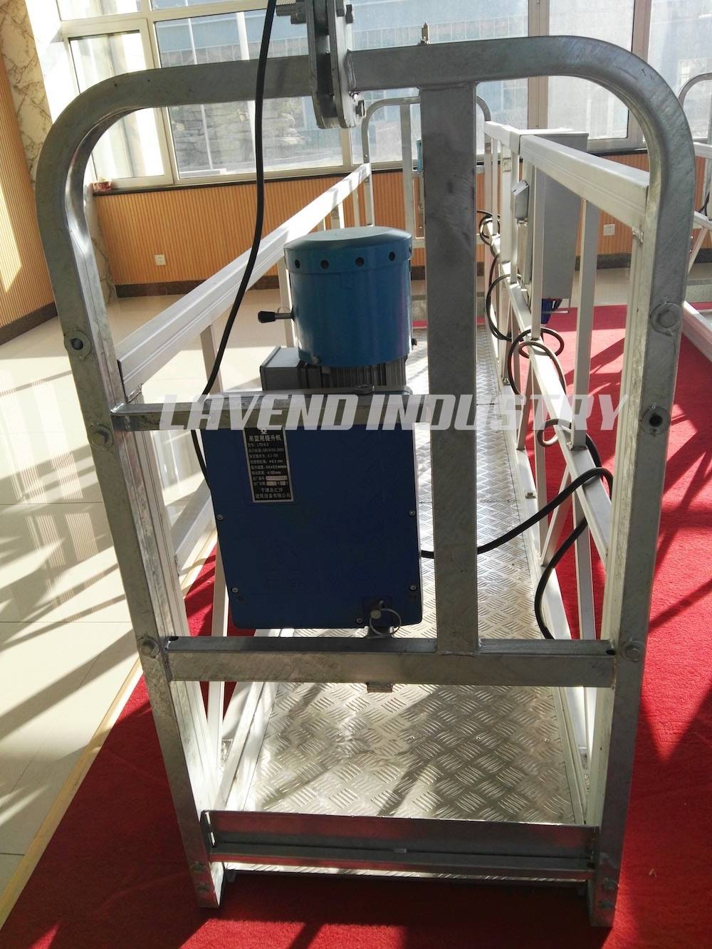 High building windows cleaner suspended platform ZLP630 ZLP800