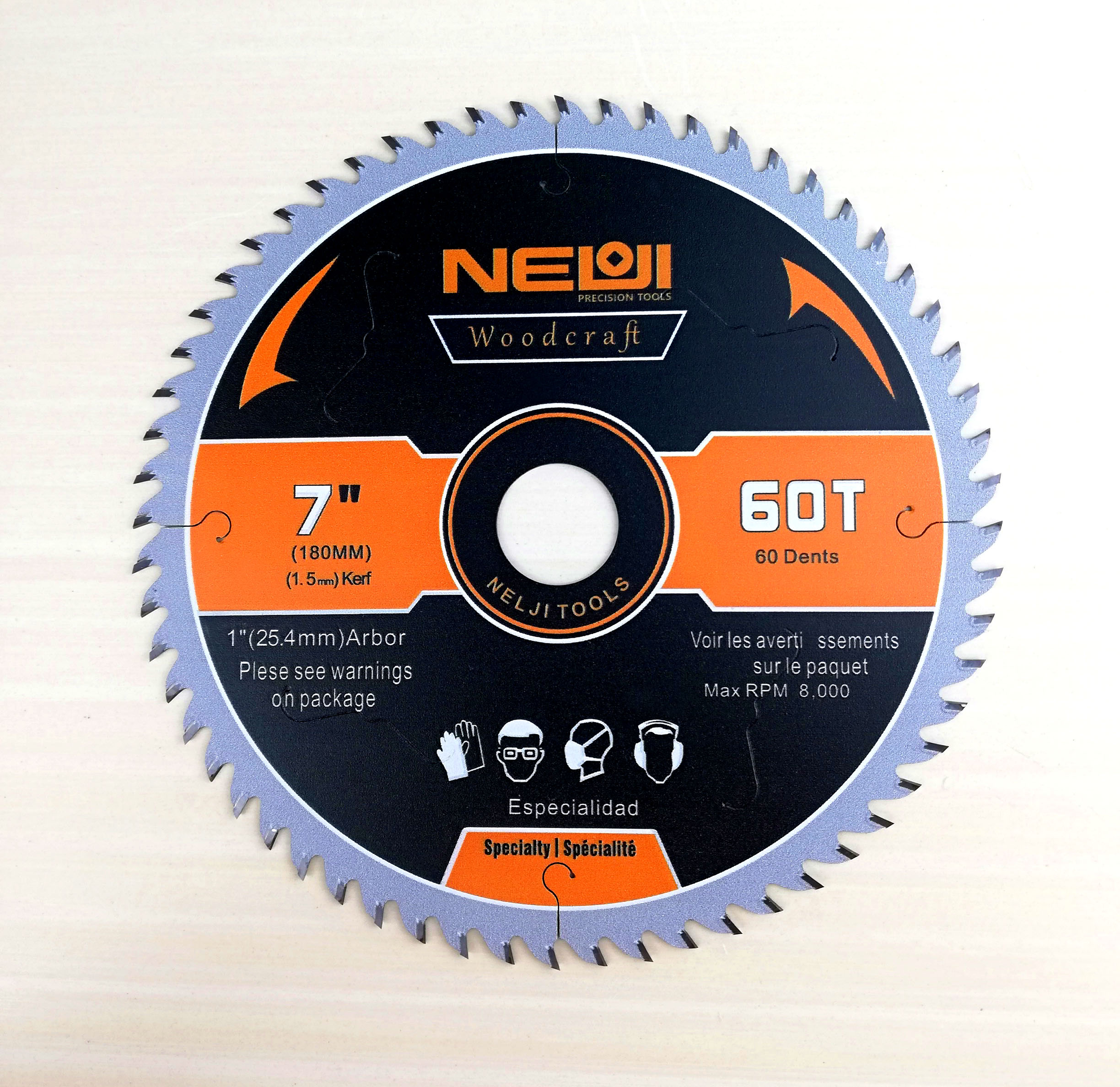 Thin Kerf TCT Saw Blade for Woods Cutting Industrial Grade