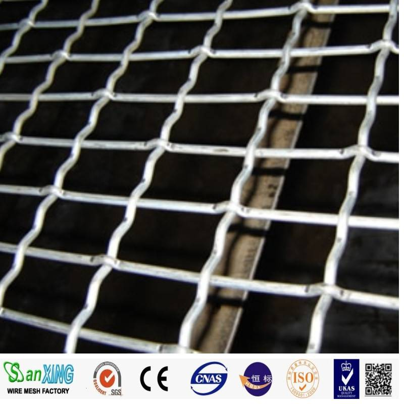 304 316L stainless steel wire mesh /stainless steel crimped wire mesh /stainless steel screen wire m
