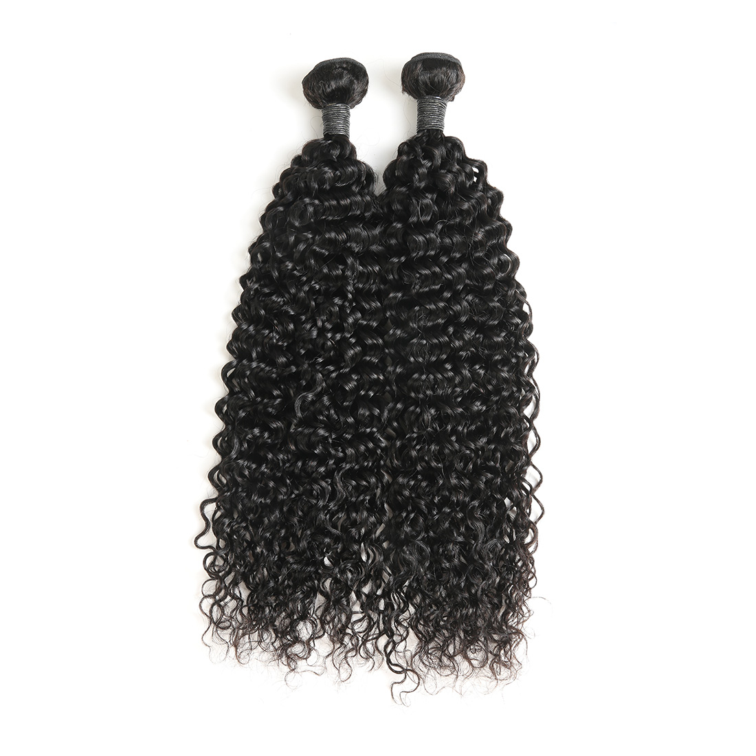 9A Brazilian Water Wave Human Virgin Hair Weave 4 Bundles With Lace Closure