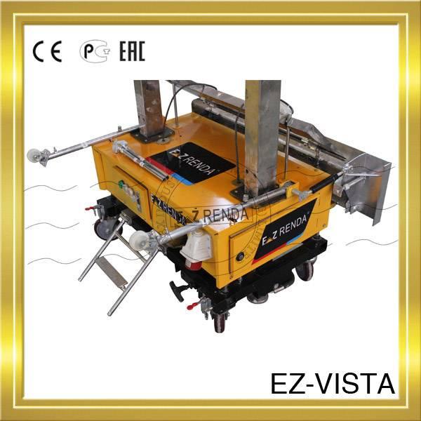 Ez renda finish plaster machine with cement mixers for plastering contractors