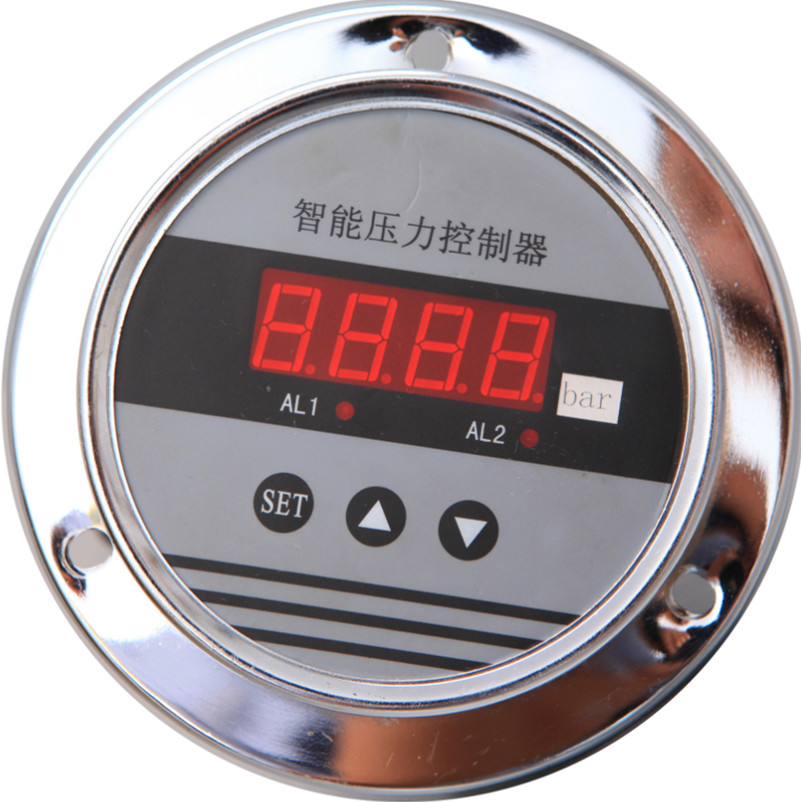 LD194A Axial Connection 100mm Digital Pressure Gauge