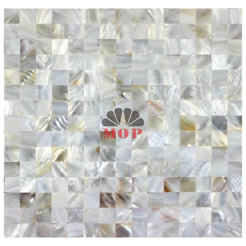 mosaic Tesserae slate shell decoration tile