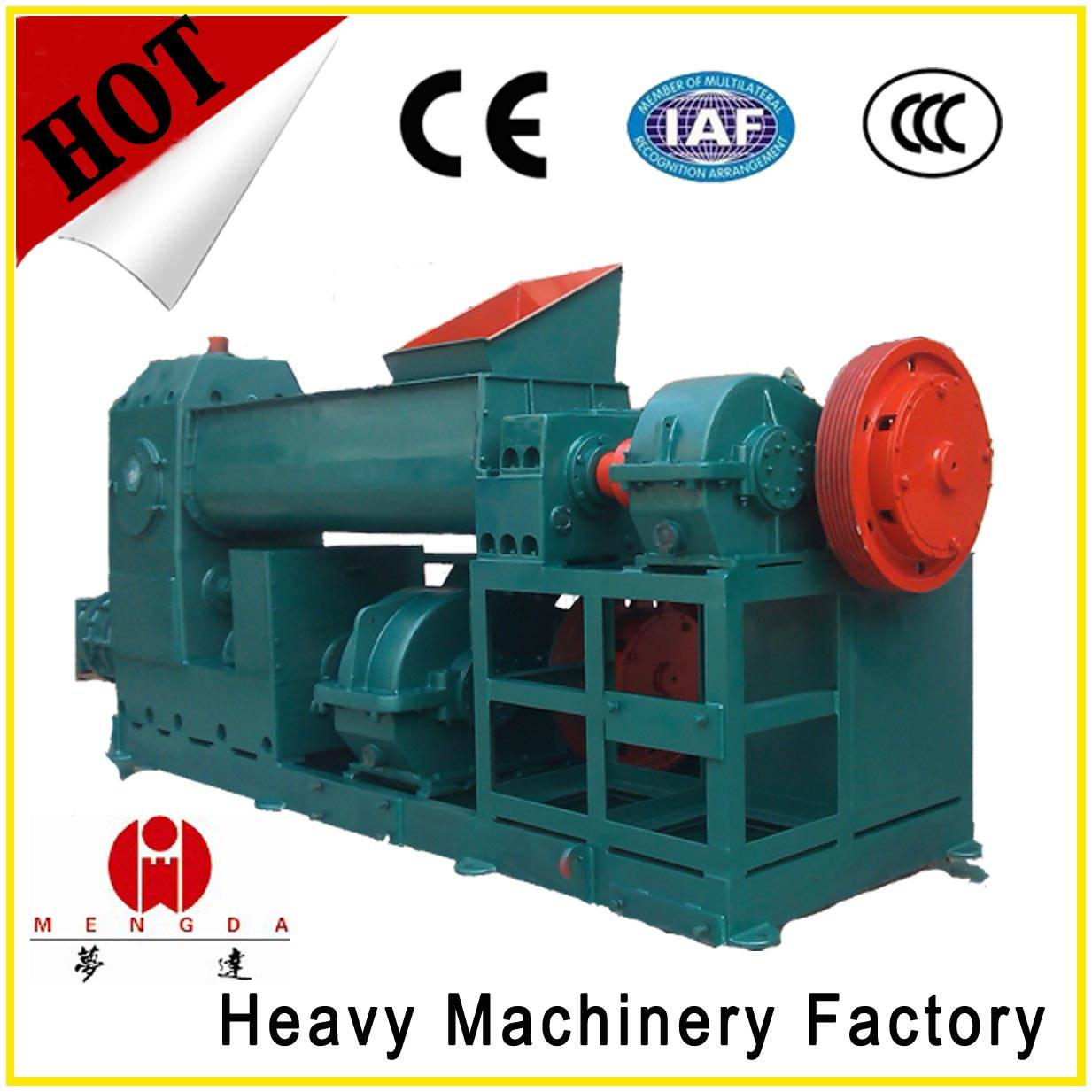 Factory price coal gangue vacuum bricks making machine