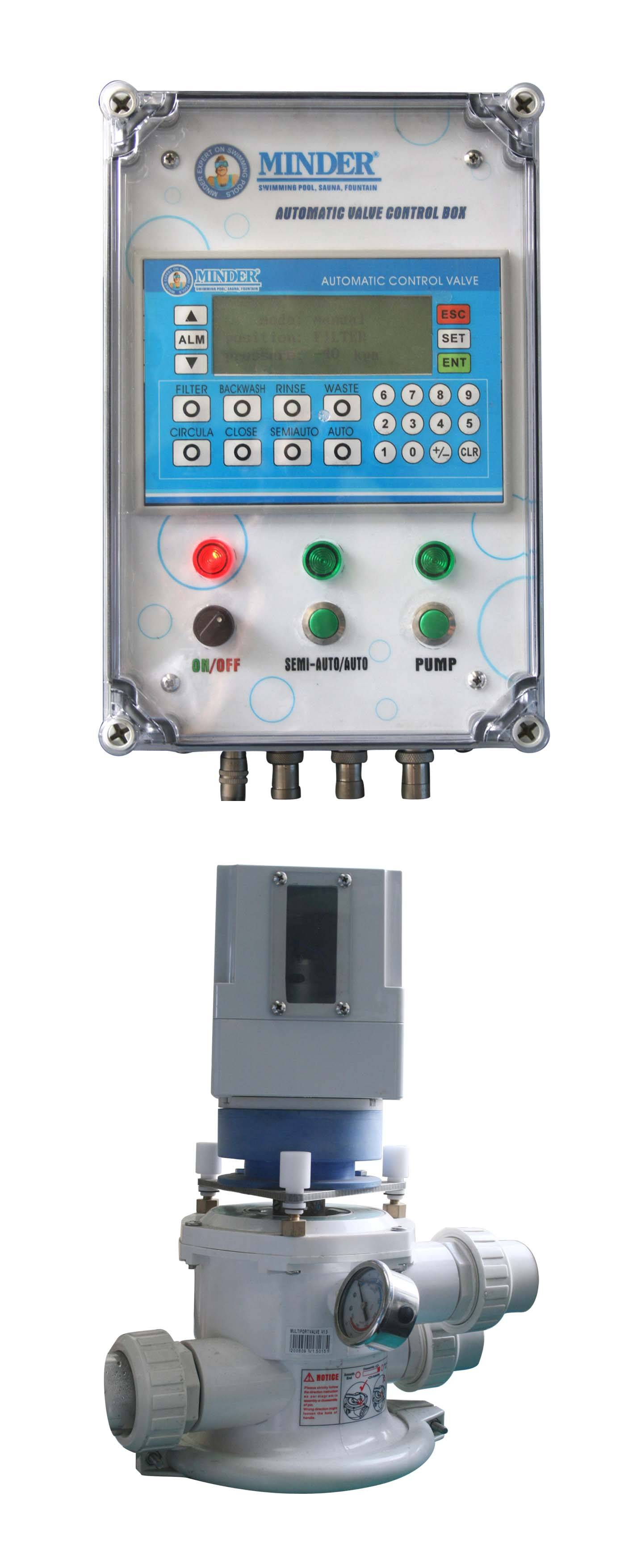 Swimming pool equipment automatic control valve for Pool equipment manufacturers