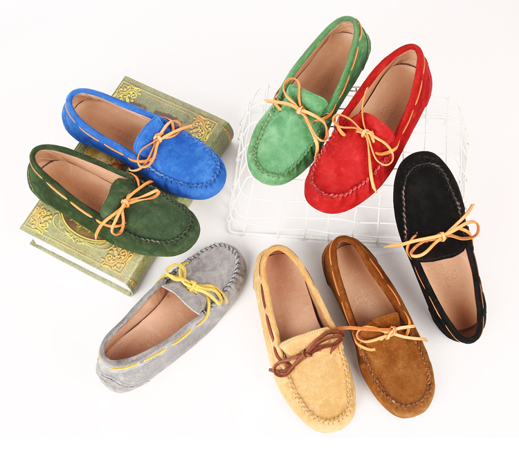 Bean shoes for lady, girl's casual shoes factory shoe
