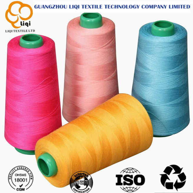 402 100% polyester sewing thread for knitting