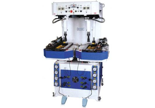 Full Oil Force Gantry Walled Sole Attaching Machine