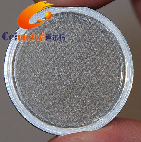Filter Disc / Stainless Steel BHO Filter Screen / 50 micron stainless steel round screen