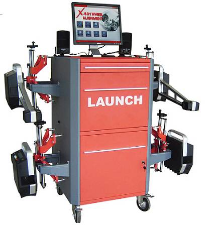 launch X-631+ Wheel Aligner